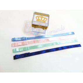 Laço Chanel Cetim Nº2 10mm Com Fita 23cm 10unid