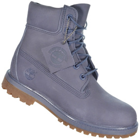 Bota Timberland Yellow Boot 6 W Azul