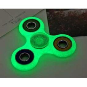 Fidget Spinner Fluorecente, Brilla En La Oscuridad