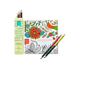 Livro De Colorir Natura Crer Pra Ver