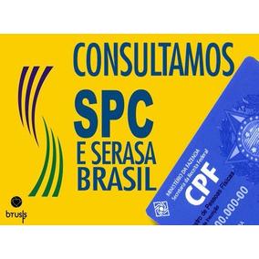 Consulta Cpf E Cnpj Spc / Serasa / Boavista Scpc Completa
