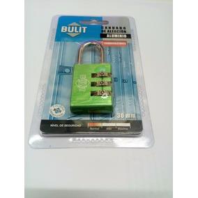 Candado Seguridad C/combinacion 30 Mm Bulit Microcentro.
