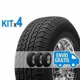 Kit 4u 265/70 R15 Dueler Ht 689 Bridgestone +4 Válv Envío $0