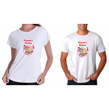 Kit 2 Camisetas Camisa Casal Chá De Panela Casal Casamento