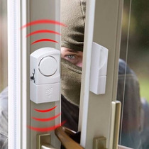 Alarme Residencial Sensor Magnético S/ Fio P/ Porta E Janela