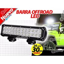 1 Barra Led Faro Luces Offroad 4x4 Jeep Moto Niebla Carro Hd