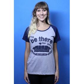 Camiseta Blusa Feminina Friends Sofá