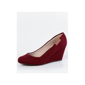 517664efe2 Sapato Secretaria Epi Anabela Moleca - Calçados