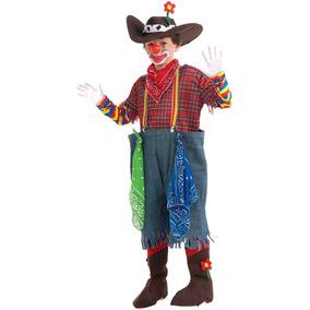 Payaso Rodeo Vestuario Completo Medio Niño