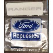 Placa Emblema Insignia Ranger Xl Legitimo Ford