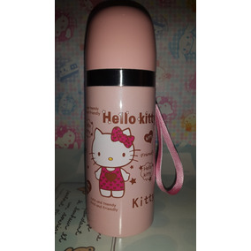 Termo Agua Caliente Bebe Tetero 350ml Hello Kitty