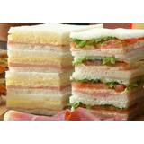 Promocion 10 Personas Lunch Sandwiches Cumpleaños