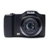 Cámara Compacta Kodak Fz152 16mp 15x Zoom Hd 720p Negra