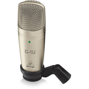 Microfone Profissional Behringer C1 Usb Para Estúdio