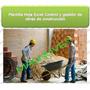 Plantilla Hoja Excel Control Obras Construcción Contratistas