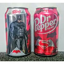 Lata - Edicion Limitada - Batman Vs Superman - Dr Pepers