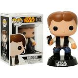 Funko Pop Han Solo Edición Vault Star Wars Movie Personaje