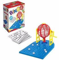 Jogo De Bingo Completo Globo + 48 Cartelas Brinquedo Família