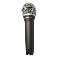 Microfone Samson Q7 Dinâmico Preto