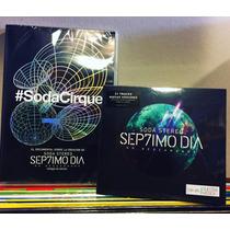 Combo Soda Stereo Septimo Dia Cd + Dvd Sodacirque Nuevo Cerr