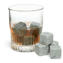 Terapia De Líquido En Las Rocas Las Piedras Del Whisky Rese