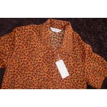 Blusa / Franela / Camisa Dama Animal Print Laila P. Talla M