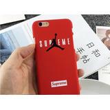 Case Protector Air Jordan Supreme Basquet Para Iphone 6 Y 6s