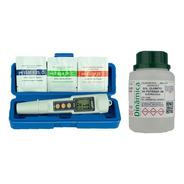Phmetro Medidor Ph Digital Atc + Brindes: Calibradores + Kcl