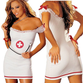 Disfraz Sexy De Enfermera Talla Standar (s Ó M) Precio S/.55