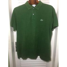 cb609775f1678 Camisa Masculina Polo Lacoste Original Tam 3 m( Frete Gratis. R  70