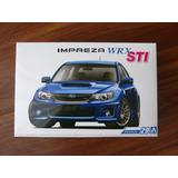 Subaru Impreza Wrx Sti 2010, Kit Para Armar Escala 1/24