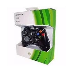 Controle Com Fio Modelo Xbox 360 Para Pc Pronta Entrega