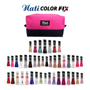 Kit Esmaltes Nati Colorfix Com Necessaire - 42 Cores Atacado