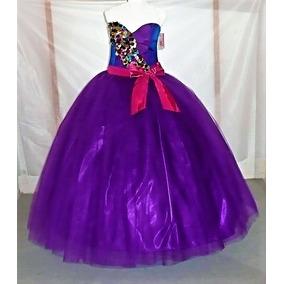 Vestido De Quince Xv Años Nuevo Color Uva