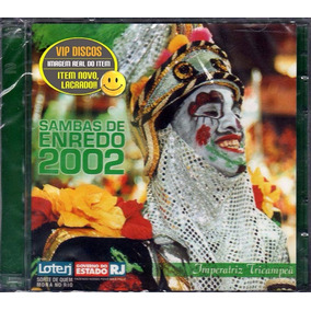 Cd Sambas De Enredo 2002 Rio De Janeiro Duplo Novo Lacrado!!