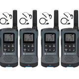 4 Rádio Motorola Talkabout Walk Talk T200mc 32km Com Fone