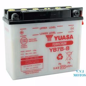 Bateria Yb7b-b Honda Cbx 200 Strada 7ah 12v Yuasa Promoção