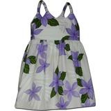 Vestido Hawaiano Para Niños Princesa Plumeria