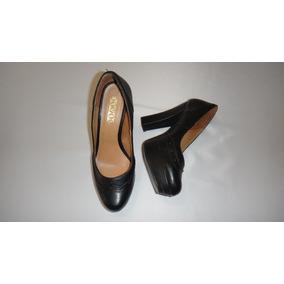 Calzado Mujer Zapatilla Color Negro Tacon 11 Stylo Talla 23