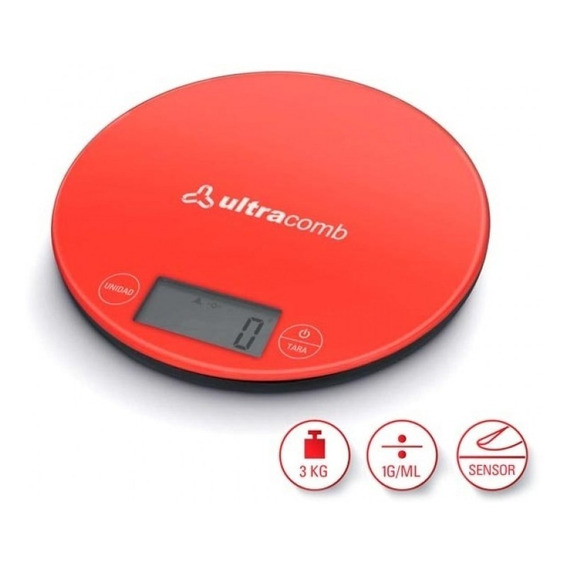 Balanza Electrónica Ultracomb Bl6001 Cocina 3 Kilos