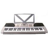 Teclado De Plata De 54 Teclas Piano Digital Electrónico - Co