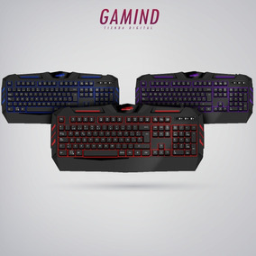 Teclado Gamer Retroiluminado Sentey Quadrant Gs 5730 Led Esp