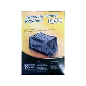 Regulador De Voltaje Cidsu 8 Tomas Ca-8201
