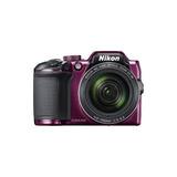 Nikon - Coolpix B500 16.0-megapíxeles Cámara Digital - Plum