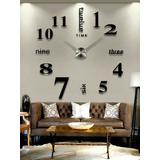 Reloj Gigante De Pared. Efecto 3d. !realmente Grandes!.