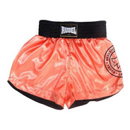 Shorts Calção De Luta Muay Thai Cetim Rudel Sports