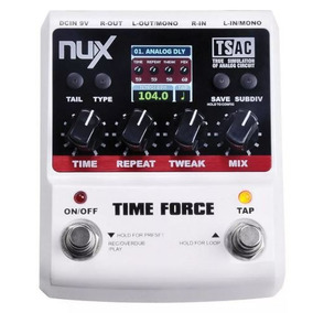 Pedal Nux Time Force Delay Pronta Entrega