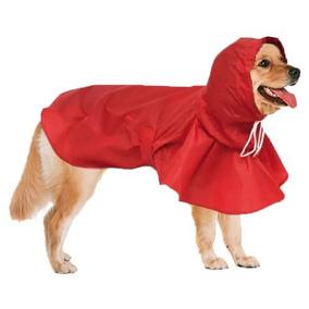 Capa De Chuva Para Cães Cachorros Impermeável Gg