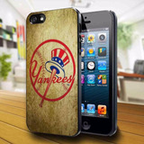 New York Yankees Cooperstown Logo Iphone 5 Case
