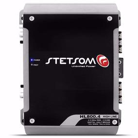 Amplificador Stetsom Hl-800 Módulo V800.4 900w Rms 4 Canais